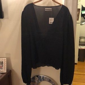 Brand New Black Urban Outfitters Top